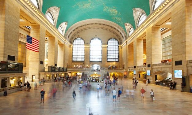 Główna sala grand central terminal, nowy jork