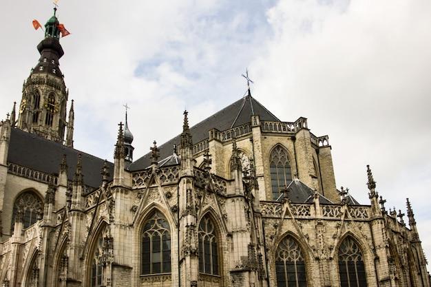 Główny kościół w breda, holandia