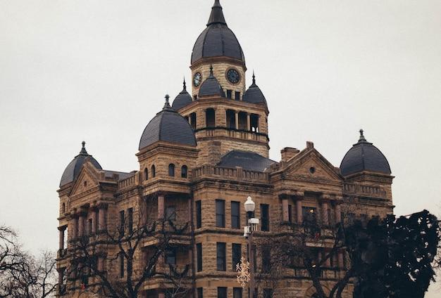 Gmach sądu w denton w teksasie