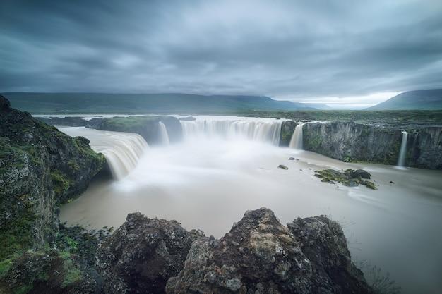 Godafoss, wodospad bogów na islandii