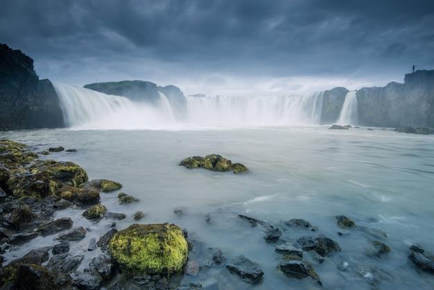 Godafoss wodospad na islandii