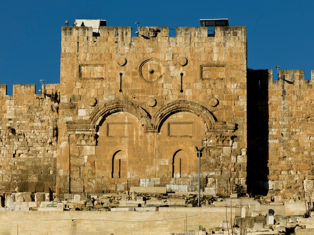 Golden gate, stare miasto, jerozolima, izrael
