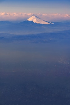 Góra fuji japan
