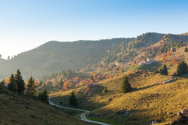 Góra grappa, alpy włoskie