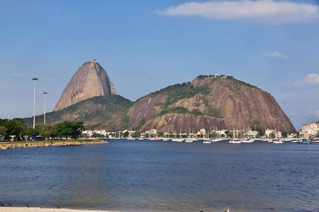 Góra sugarloaf, rio de janeiro, brazylia