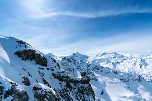 Góra titlis w lecie, szwajcaria