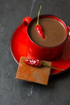 Gorąca czekolada z pieprzem