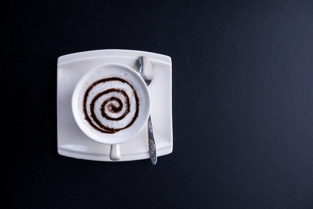 Gorąca kawa w kubku