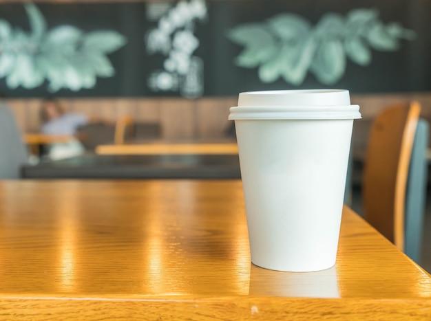 Gorąca kubek kawy
