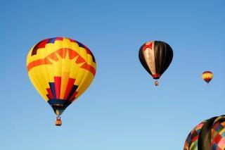 Gorące powietrze balony obraz