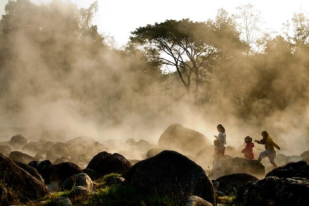 Gorące źródła (park narodowy chae son).
