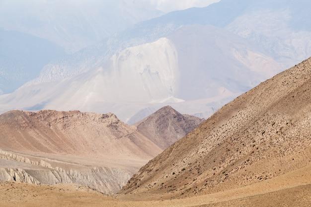 Górny krajobraz mustang
