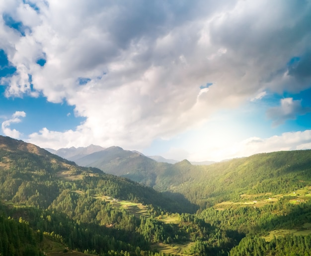 Górska dolina