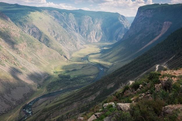 Górska przełęcz ałtaj