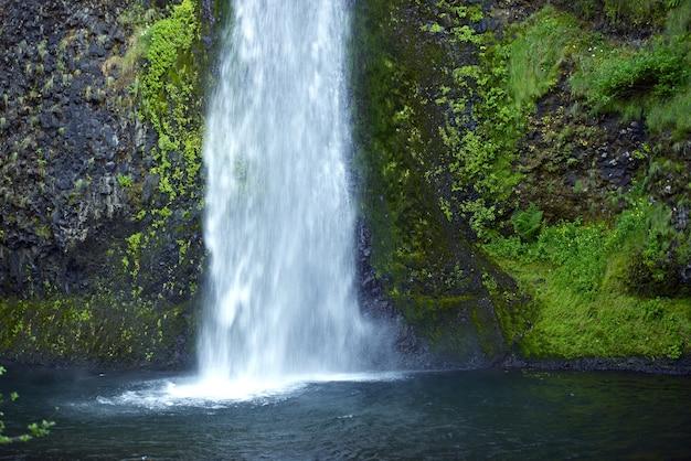 Górski wodospad