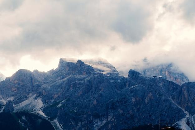 Góry cortina d'ampezzo