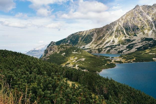 Góry, dolina pięciu jezior, polska, zakopane