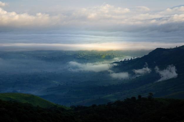 Góry lasy mgła phu thap boek