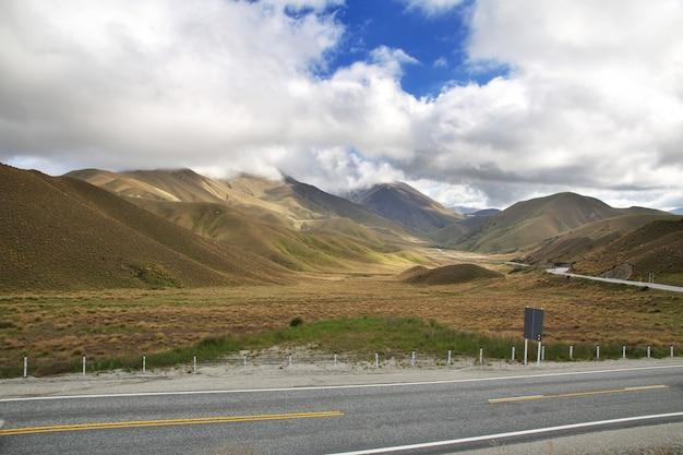 Góry południowej wyspy, nowa zelandia