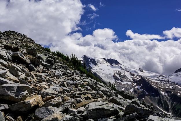Góry skaliste. kanada.