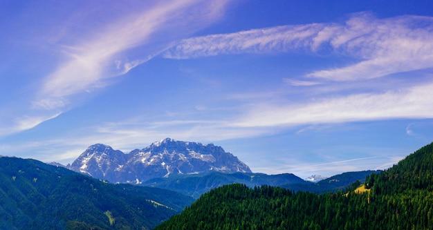 Góry w alpach
