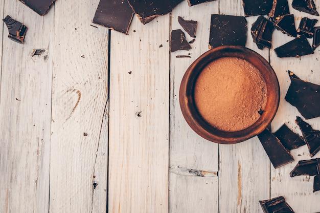 Gorzka czekolada bez cukru i bez glutenu dla diabetyków i alergików