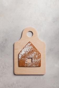 Gotowanie świątecznego domku z piernika