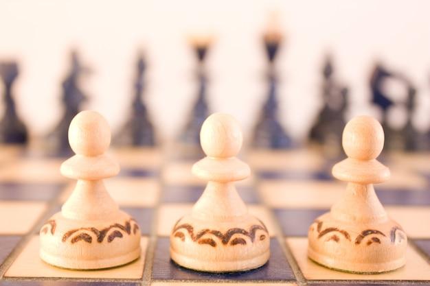 Gotowi do bitwy - trzy pionki
