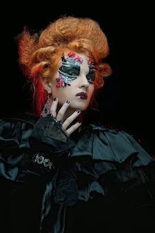 Gotycka wiedźma, ciemna kobieta
