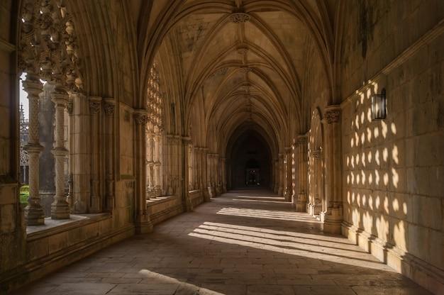Gotycki średniowieczny klasztor dominikanów w batalha