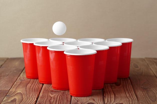 Gra pong piwny