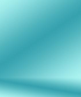Gradient niebieski streszczenie tło. gładki granatowy z czarną winietą studio