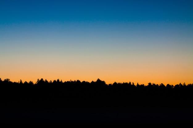 Gradient wschodu słońca