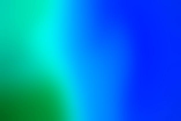 Gradient zieleni i błękitu