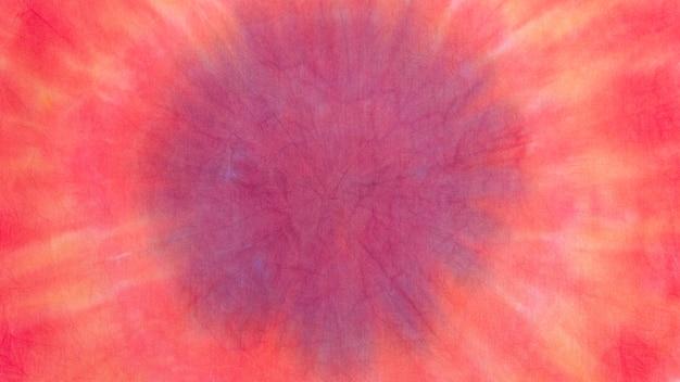 Gradientowa powierzchnia tekstylna barwiona metodą tie-dye