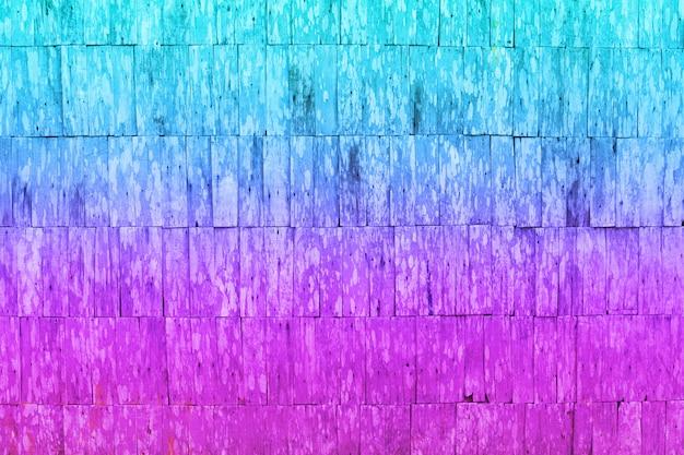 Gradientowa ściana tekstury bichromii