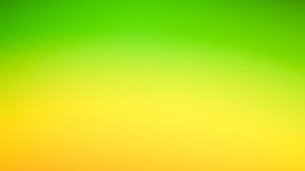 Gradientowe nieostre abstrakcyjne zdjęcie gładkie zielone tło w kolorze