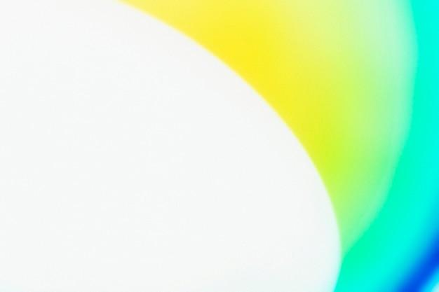 Gradientowe tło z białym i zielonym efektem świetlnym