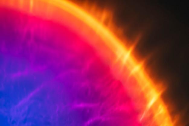 Gradientowe tło z kolorowym efektem świetlnym