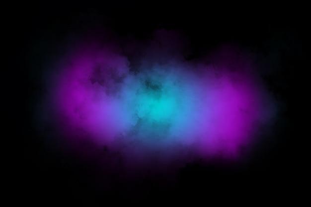 Gradientu dym streszczenie tło