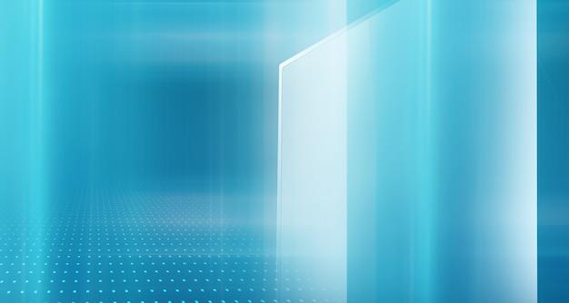 Graficzne abstrakcyjne tło technologii