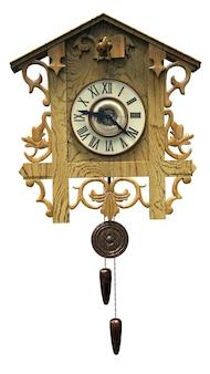 Grafika 3d zegara z kukułką