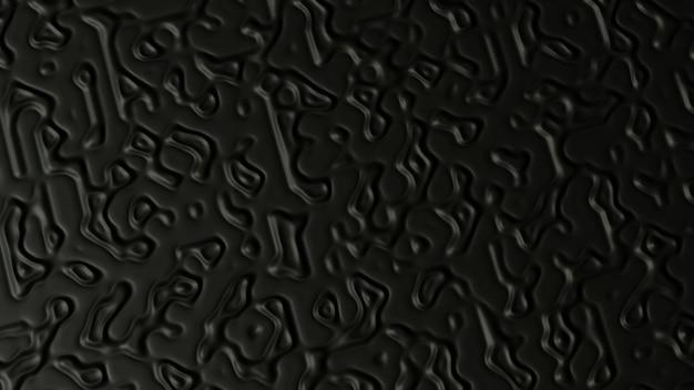 Grafika trójwymiarowa abstrakcyjny wzór wytłaczany