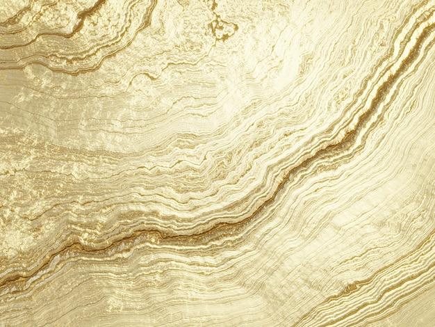 Grafika trójwymiarowa streszczenie tło złoto