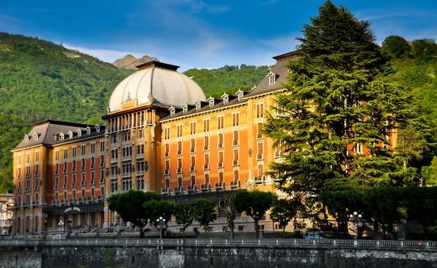 Grand hotel san pellegrino terme włochy