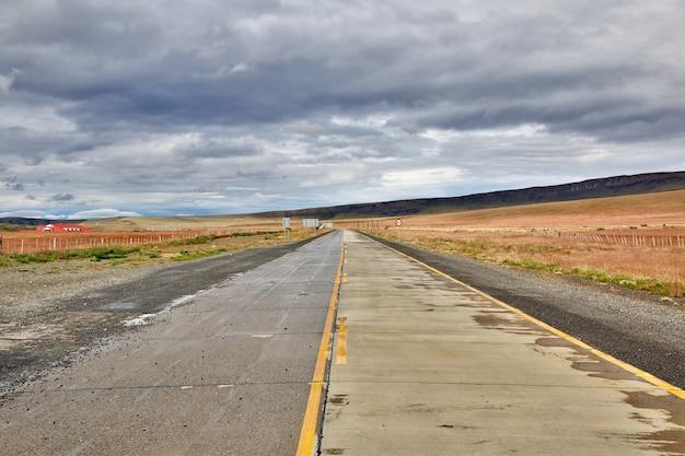Granica między argentyną i chile w patagonii