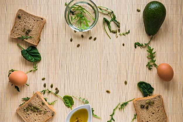 Granica od chleba i składników