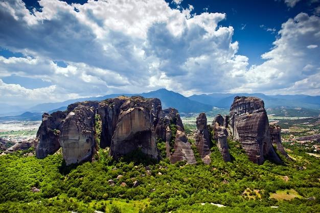 Grecja formacje skalne meteory