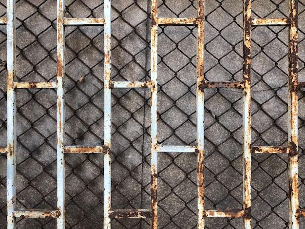 Grille pattern 2 warstwy na ciemnym tle w jakimś miejscu w tajlandii