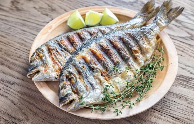 Grillowana ryba dorade royale